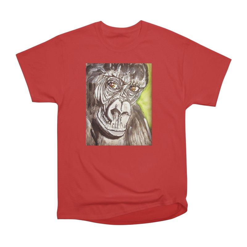 Gorilla Men's Heavyweight T-Shirt by AlmaT's Artist Shop