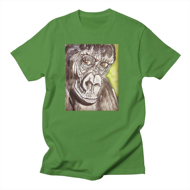 Gorilla Women's Regular Unisex T-Shirt by AlmaT's Artist Shop