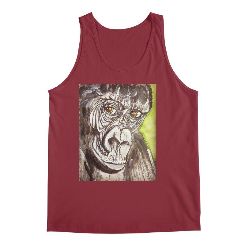 Gorilla Men's Tank by AlmaT's Artist Shop