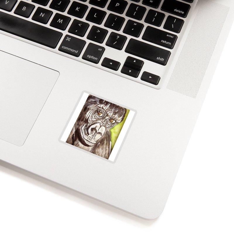 Gorilla Accessories Sticker by AlmaT's Artist Shop