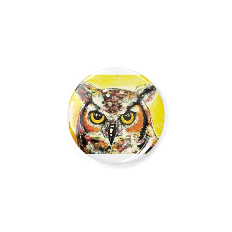 It's Owl Time! Accessories Button by AlmaT's Artist Shop