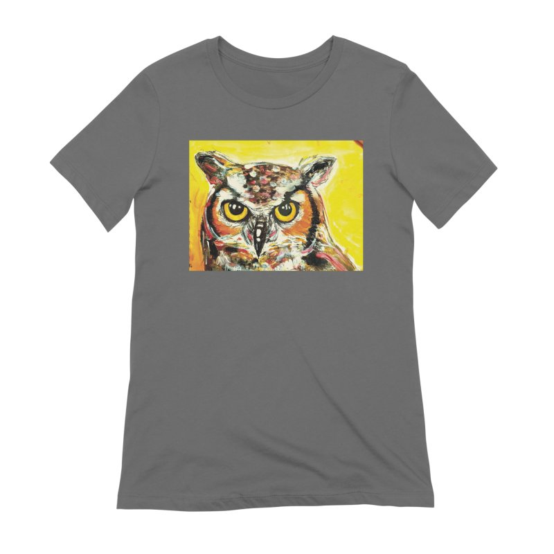 It's Owl Time! Women's Extra Soft T-Shirt by AlmaT's Artist Shop
