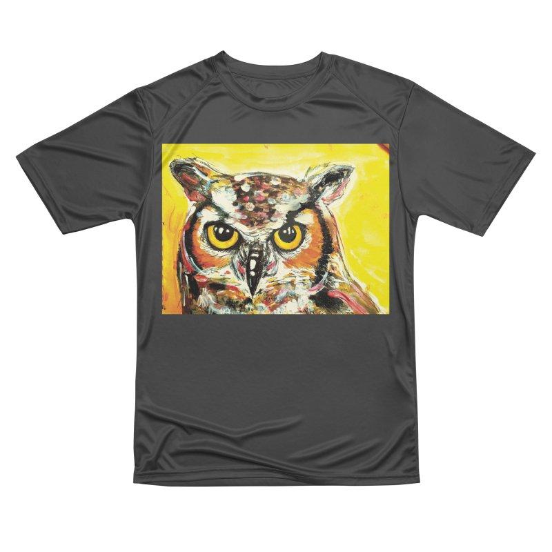 It's Owl Time! Women's Performance Unisex T-Shirt by AlmaT's Artist Shop