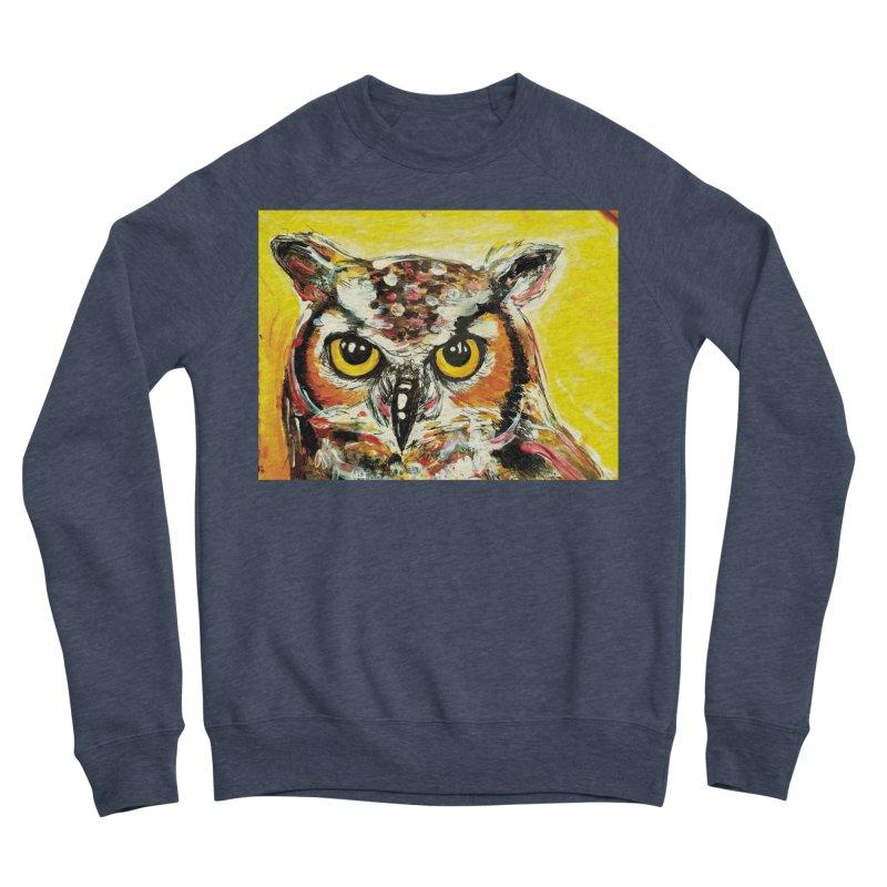 It's Owl Time! Women's Sponge Fleece Sweatshirt by AlmaT's Artist Shop