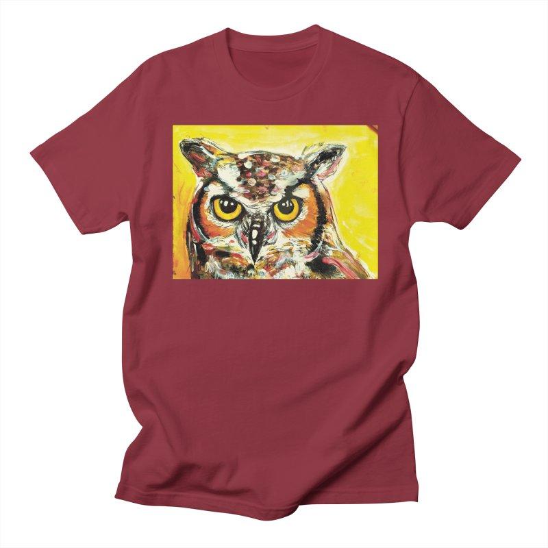 It's Owl Time! Women's Regular Unisex T-Shirt by AlmaT's Artist Shop