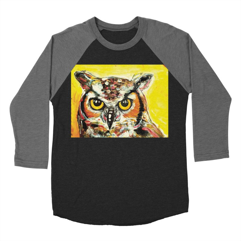 It's Owl Time! Women's Baseball Triblend Longsleeve T-Shirt by AlmaT's Artist Shop