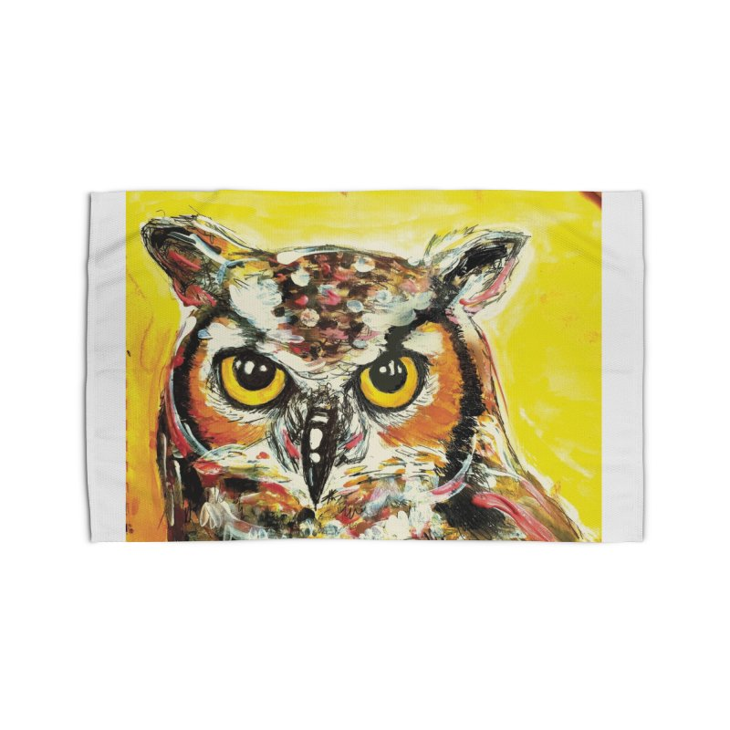 It's Owl Time! Home Rug by AlmaT's Artist Shop