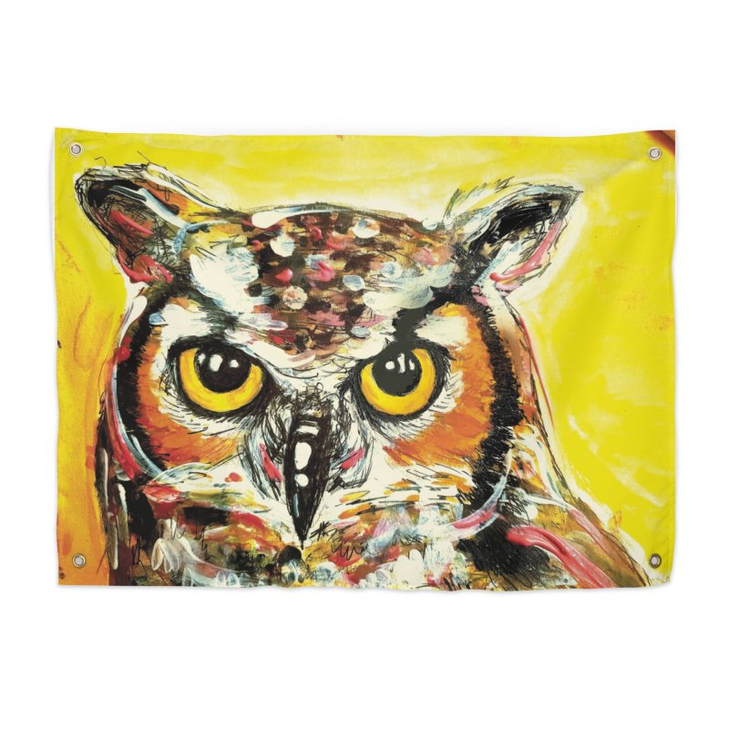 It's Owl Time! Home Tapestry by AlmaT's Artist Shop