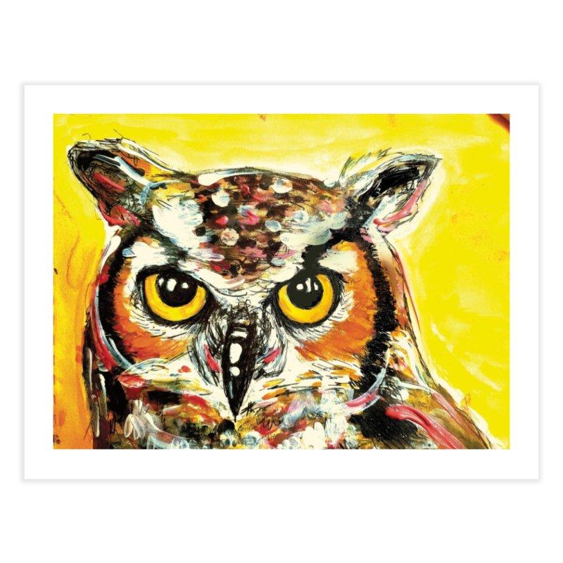 It's Owl Time! Home Fine Art Print by AlmaT's Artist Shop