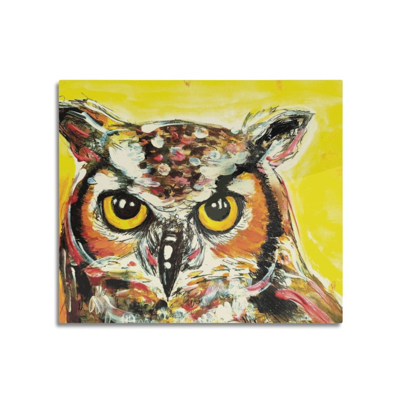 It's Owl Time! Home Mounted Acrylic Print by AlmaT's Artist Shop