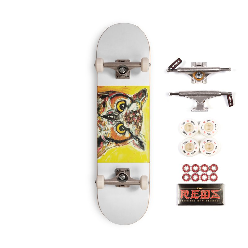 It's Owl Time! Accessories Complete - Pro Skateboard by AlmaT's Artist Shop