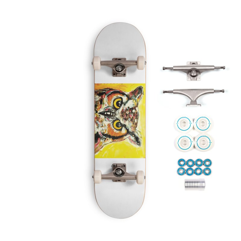 It's Owl Time! Accessories Complete - Basic Skateboard by AlmaT's Artist Shop