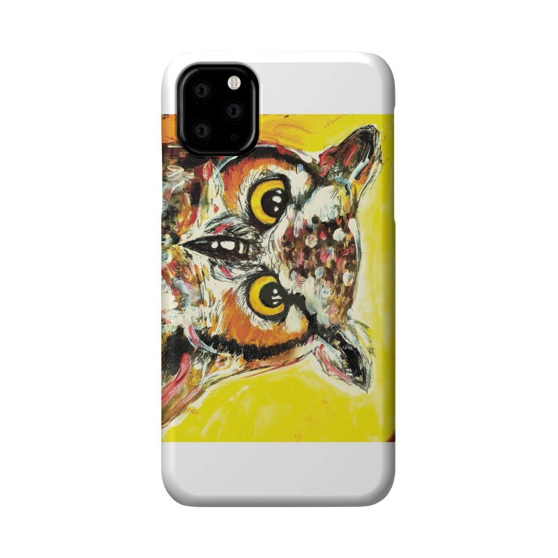 It's Owl Time! Accessories Phone Case by AlmaT's Artist Shop