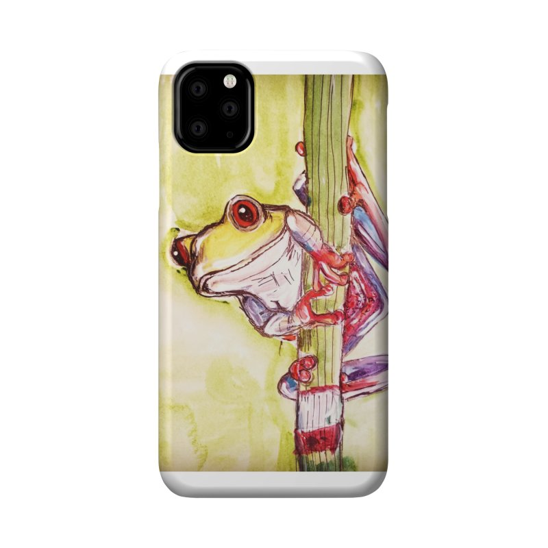 Red-eyed tree frog Accessories Phone Case by AlmaT's Artist Shop
