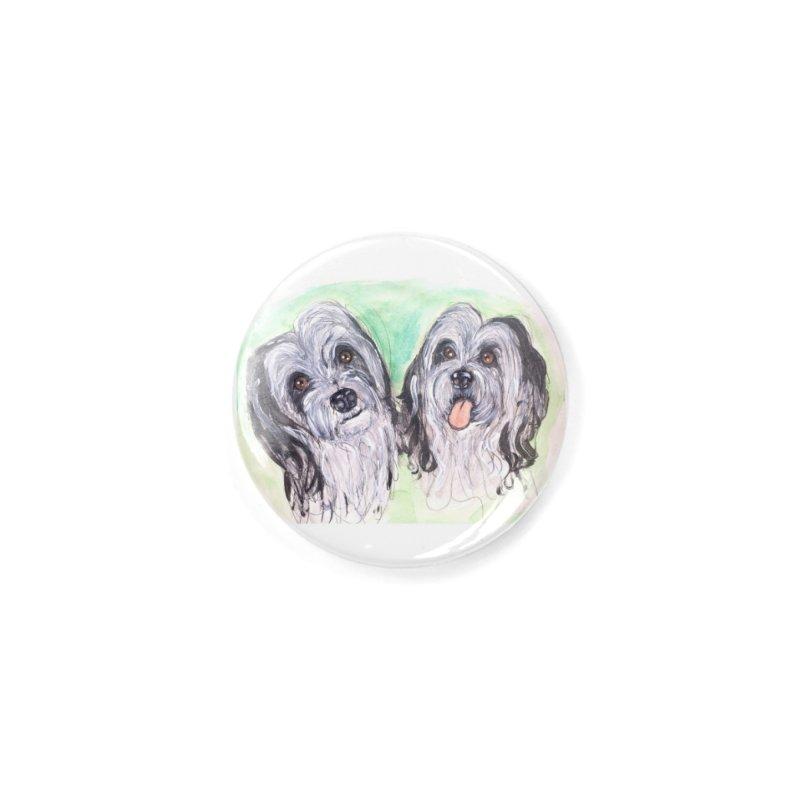 Polish Lowland Sheepdog Accessories Button by AlmaT's Artist Shop