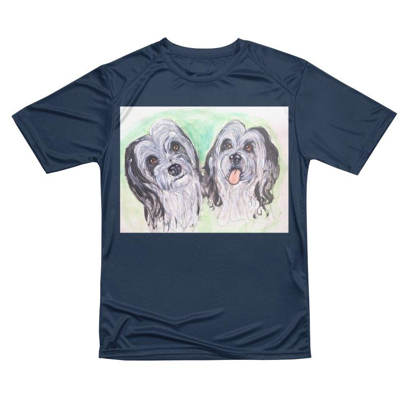 Polish Lowland Sheepdog Women's Performance Unisex T-Shirt by AlmaT's Artist Shop