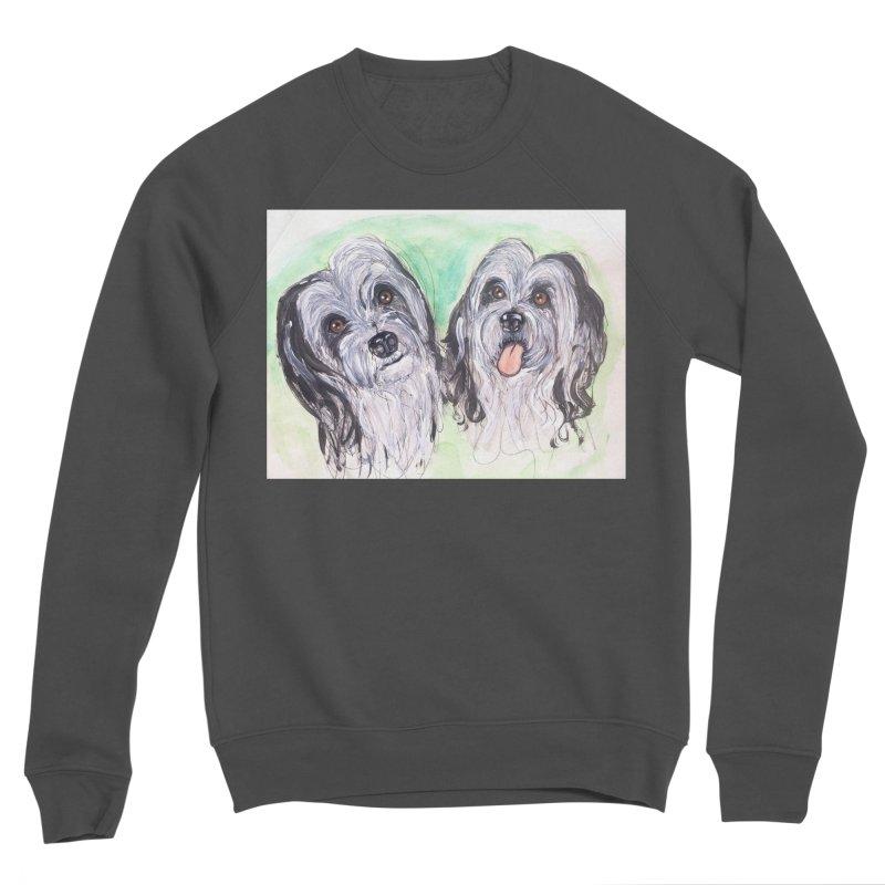 Polish Lowland Sheepdog Women's Sponge Fleece Sweatshirt by AlmaT's Artist Shop