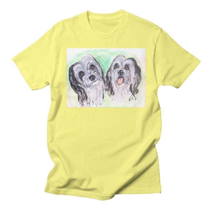 Polish Lowland Sheepdog Women's Regular Unisex T-Shirt by AlmaT's Artist Shop