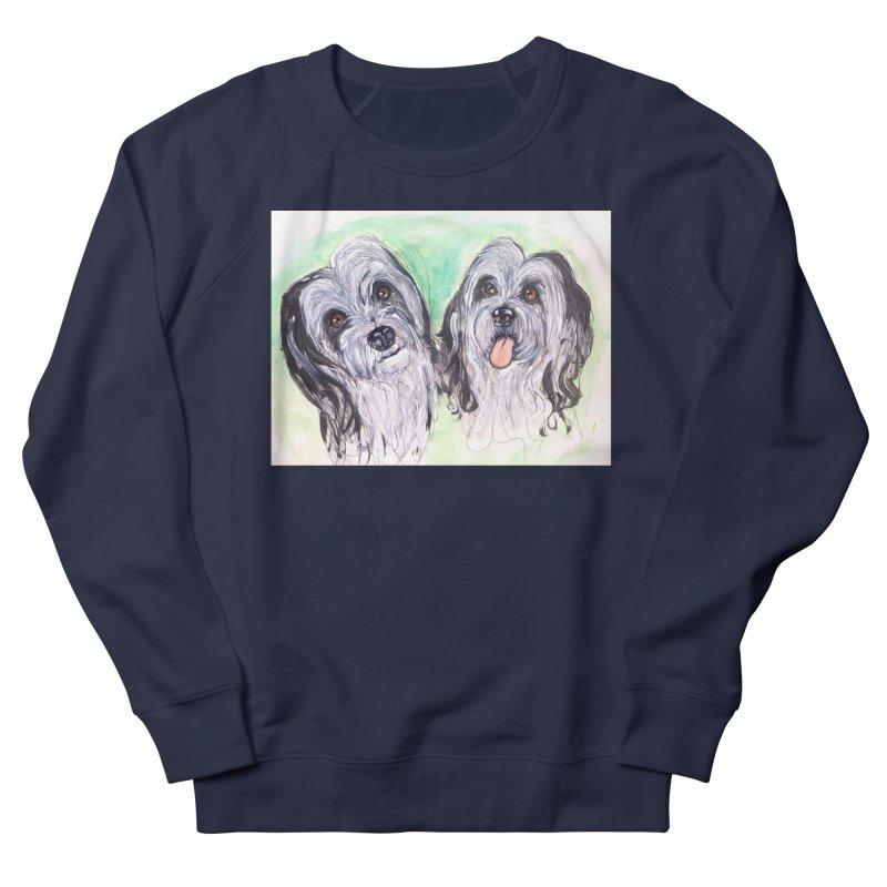 Polish Lowland Sheepdog Women's French Terry Sweatshirt by AlmaT's Artist Shop