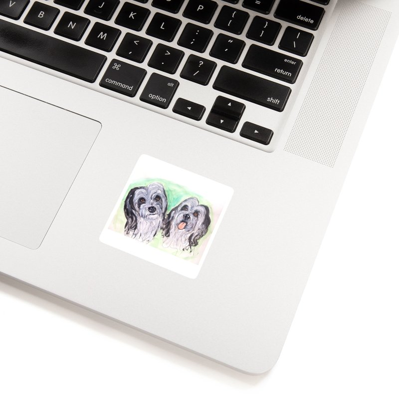 Polish Lowland Sheepdog Accessories Sticker by AlmaT's Artist Shop