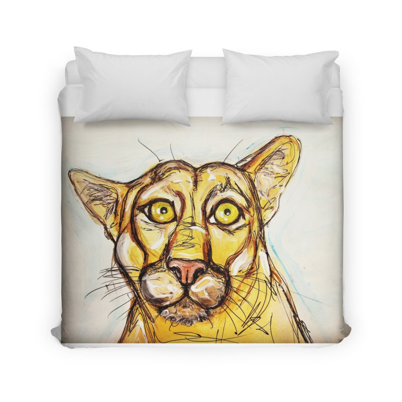 Puma Home Duvet by AlmaT's Artist Shop