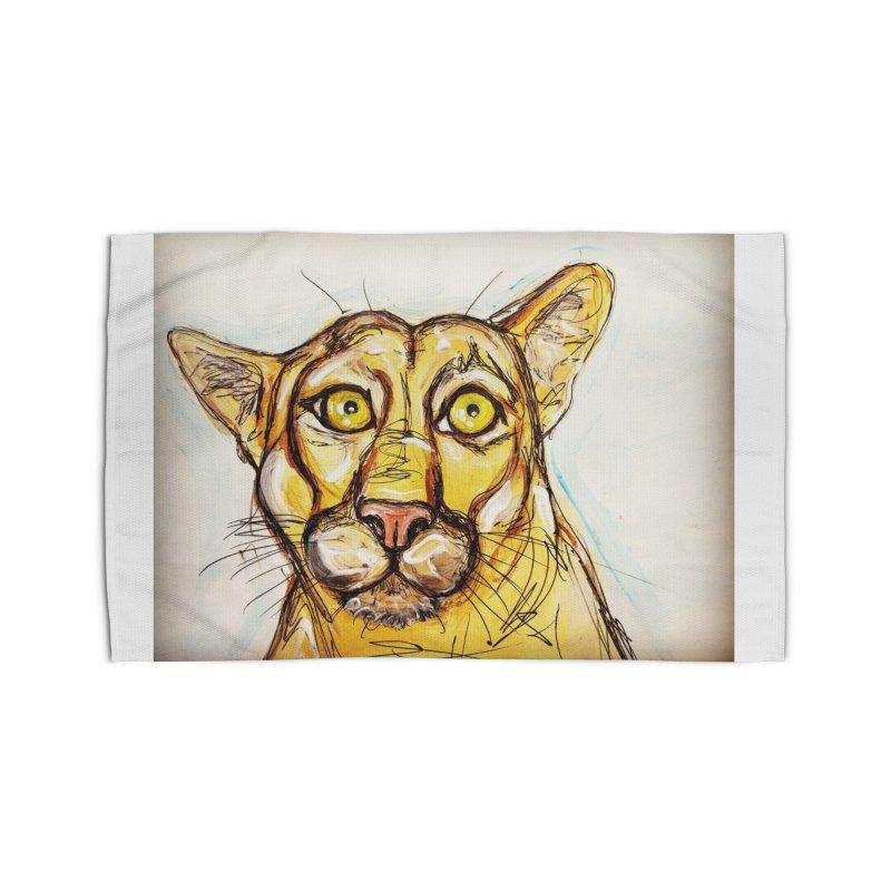 Puma Home Rug by AlmaT's Artist Shop