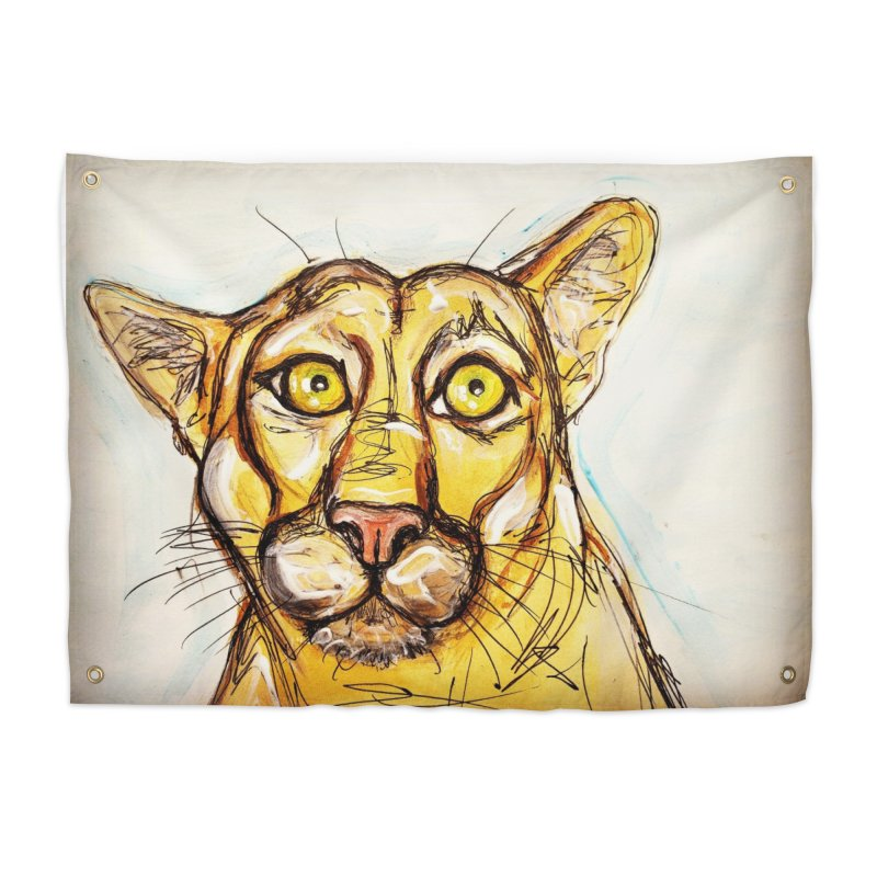 Puma Home Tapestry by AlmaT's Artist Shop