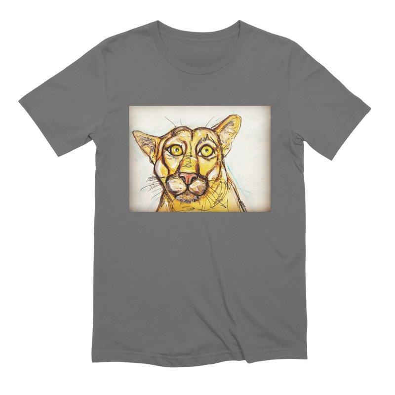 Puma Men's Extra Soft T-Shirt by AlmaT's Artist Shop