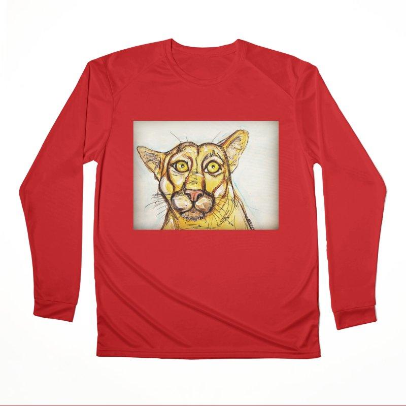 Puma Men's Performance Longsleeve T-Shirt by AlmaT's Artist Shop