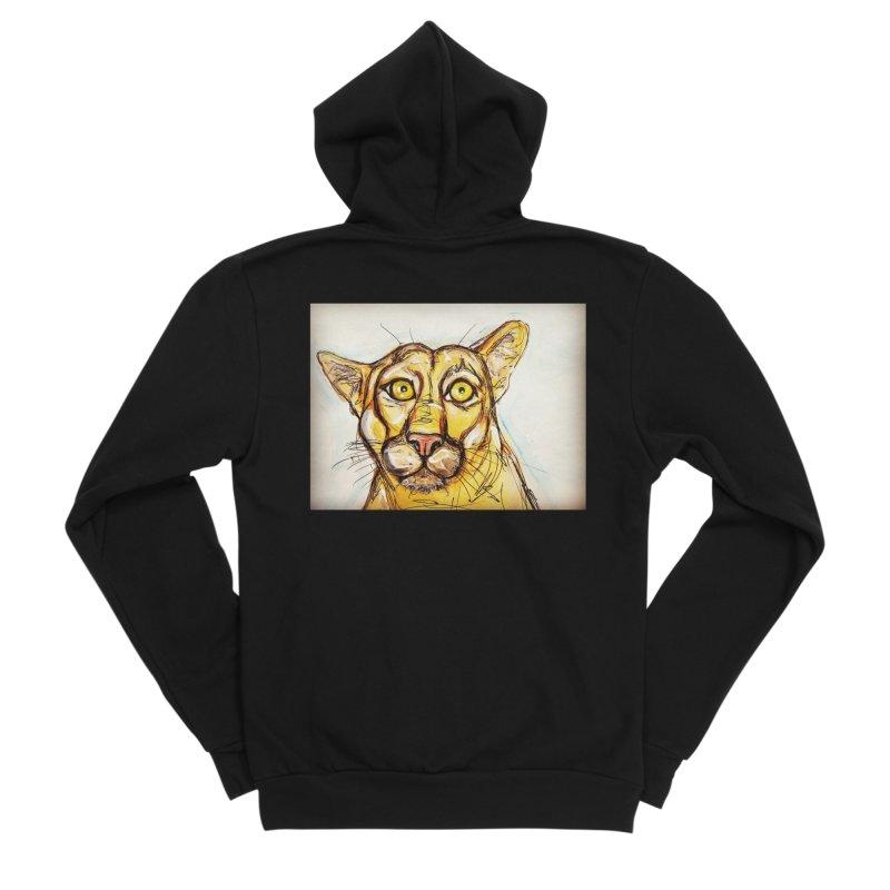 Puma Men's Sponge Fleece Zip-Up Hoody by AlmaT's Artist Shop