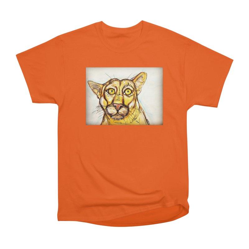 Puma Men's Heavyweight T-Shirt by AlmaT's Artist Shop