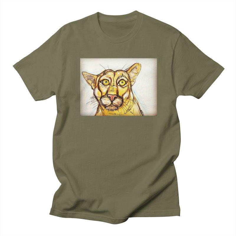 Puma Women's Regular Unisex T-Shirt by AlmaT's Artist Shop