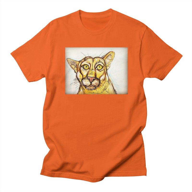 Puma Men's Regular T-Shirt by AlmaT's Artist Shop