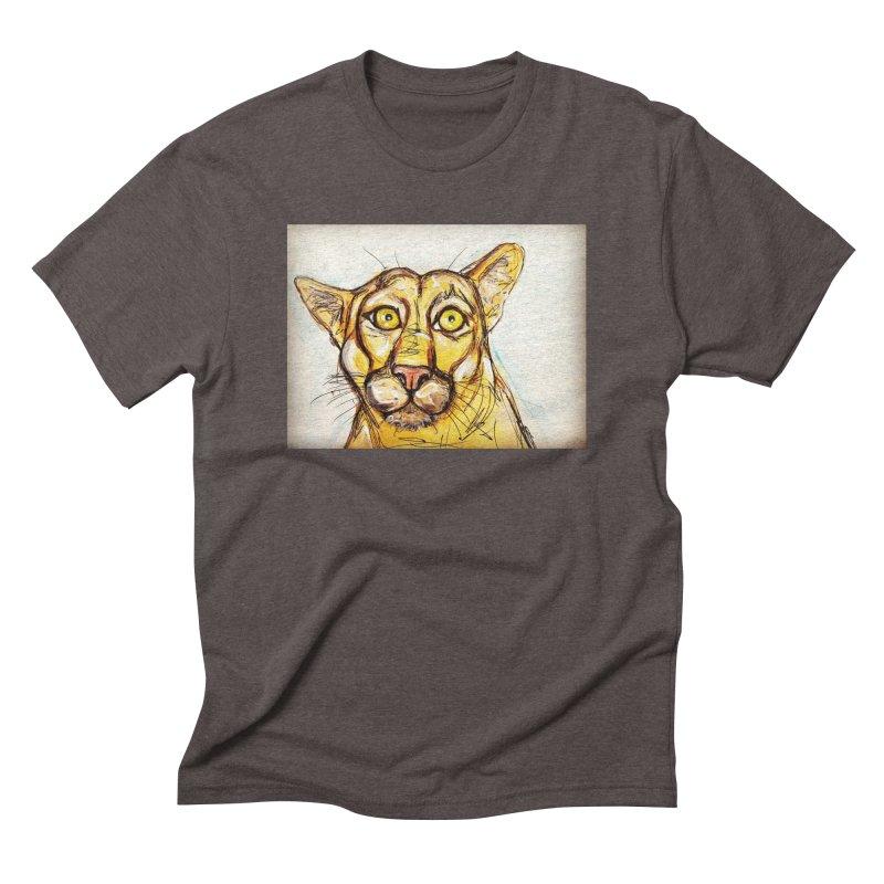 Puma Men's Triblend T-Shirt by AlmaT's Artist Shop