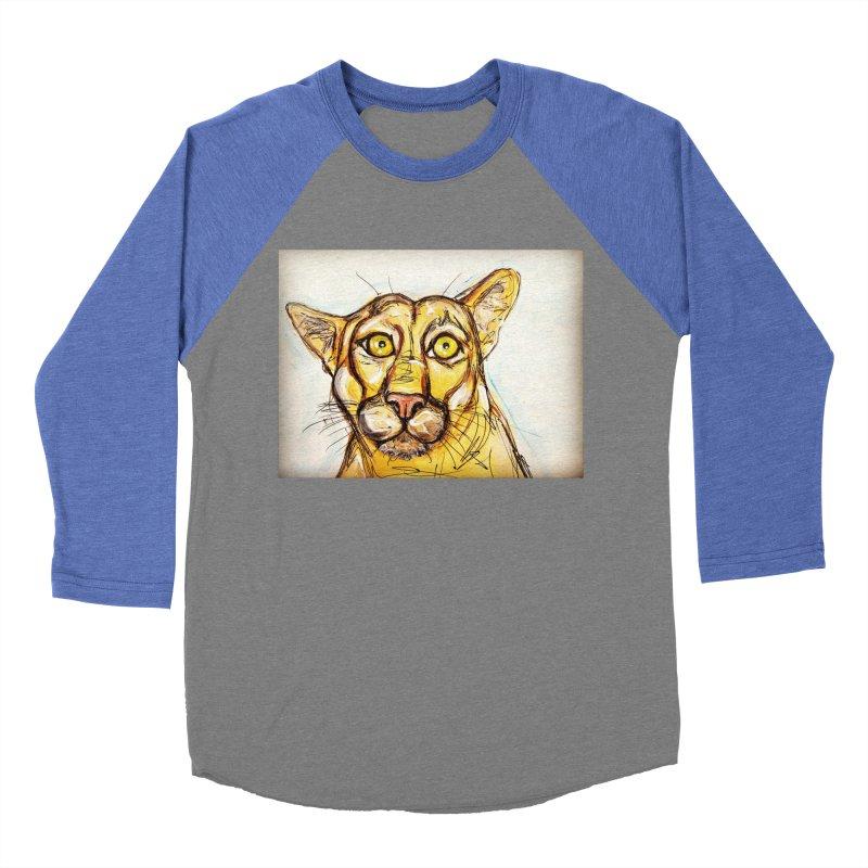 Puma Men's Baseball Triblend Longsleeve T-Shirt by AlmaT's Artist Shop