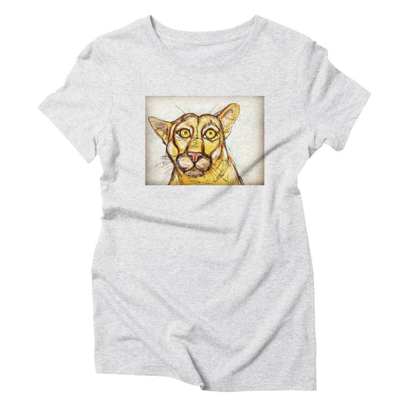 Puma Women's Triblend T-Shirt by AlmaT's Artist Shop