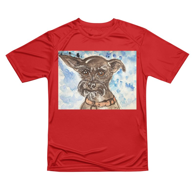 Ellie Men's Performance T-Shirt by AlmaT's Artist Shop