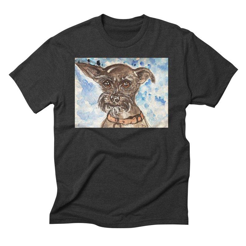 Ellie Men's Triblend T-Shirt by AlmaT's Artist Shop