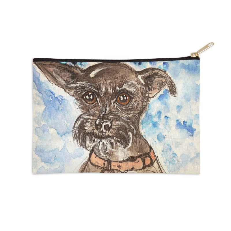 Ellie Accessories Zip Pouch by AlmaT's Artist Shop