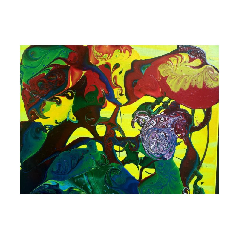 Abstract Flowers by AlmaT's Artist Shop