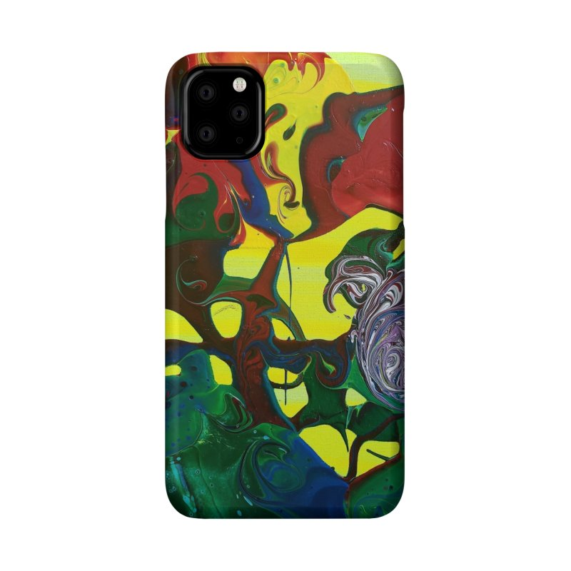 Abstract Flowers Accessories Phone Case by AlmaT's Artist Shop