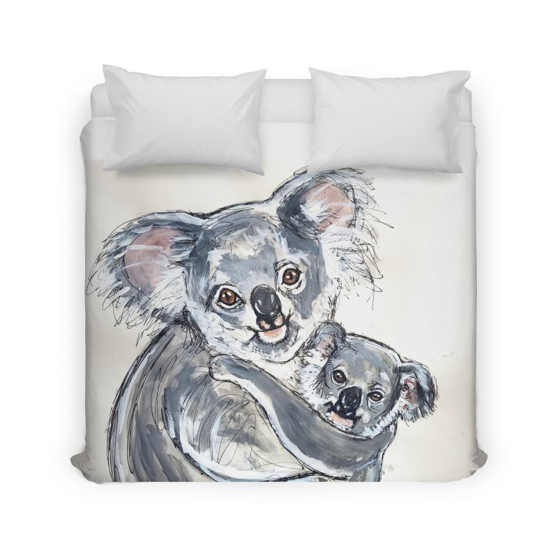 Koala Home Duvet by AlmaT's Artist Shop