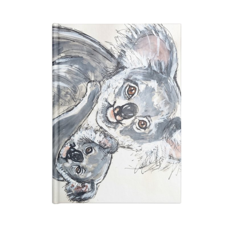 Koala Accessories Lined Journal Notebook by AlmaT's Artist Shop