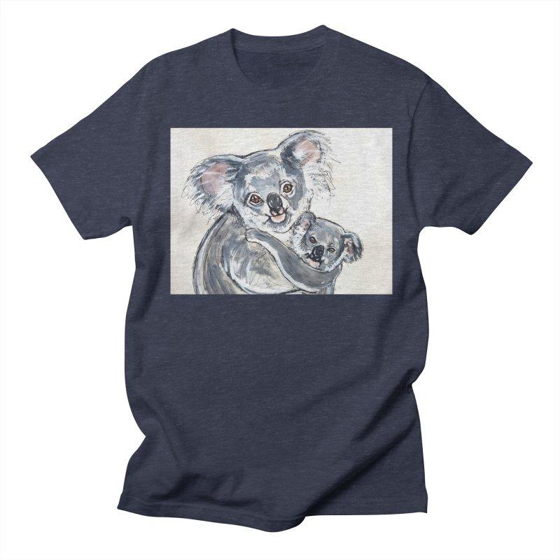 Koala Women's Regular Unisex T-Shirt by AlmaT's Artist Shop
