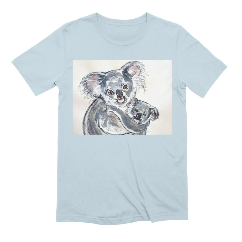Koala Men's Extra Soft T-Shirt by AlmaT's Artist Shop