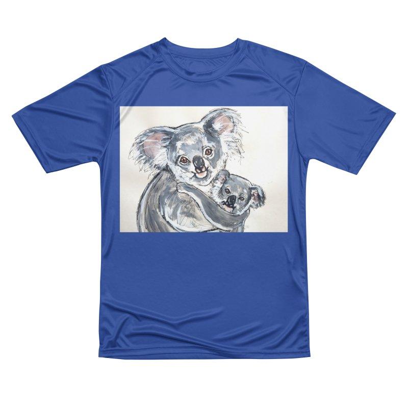 Koala Women's Performance Unisex T-Shirt by AlmaT's Artist Shop