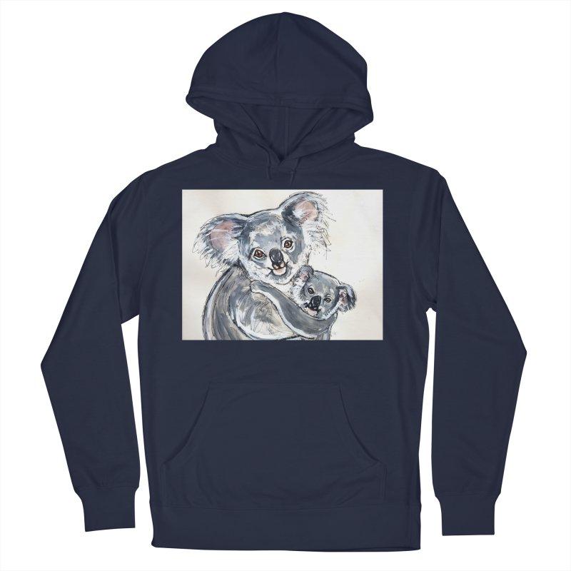Koala Women's French Terry Pullover Hoody by AlmaT's Artist Shop