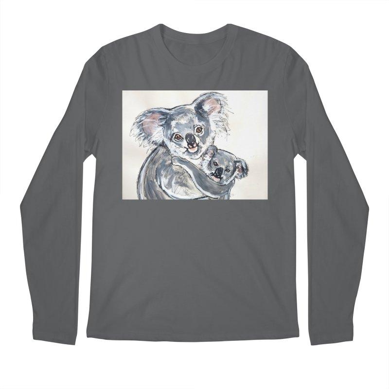 Koala Men's Longsleeve T-Shirt by AlmaT's Artist Shop