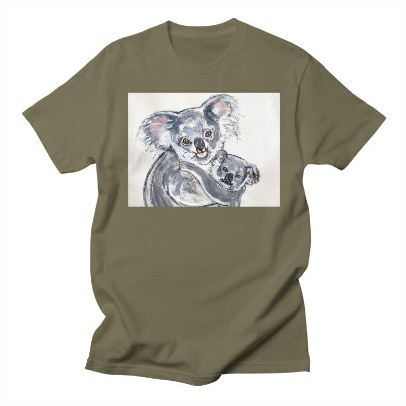 Koala Men's Regular T-Shirt by AlmaT's Artist Shop