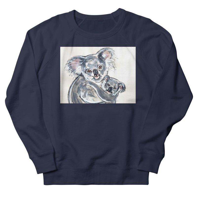 Koala Women's French Terry Sweatshirt by AlmaT's Artist Shop